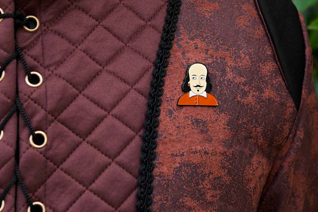 Character Enamel Pins - William
