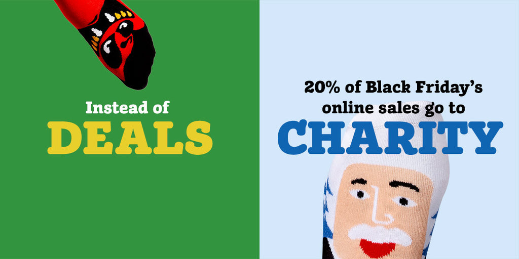 Black Friday - No Deals - Donate to charity with ChattyFeet