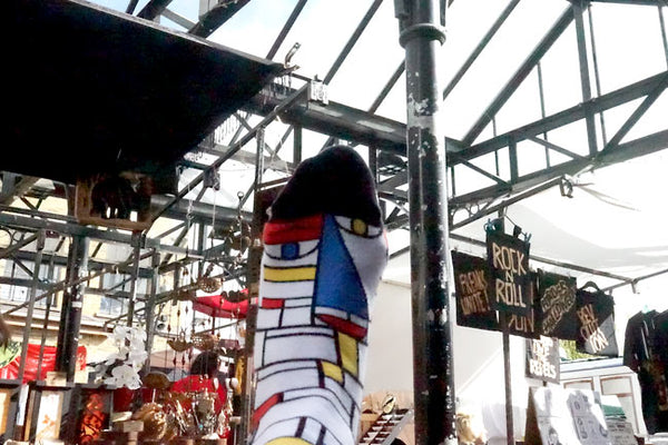 Camden Market Stalls - Unique Shopping Experience with Feet Mondrian