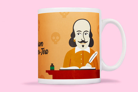 Fun illustrated mugs