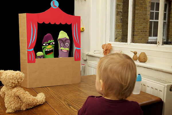 Father's Day Activities - Sock Puppet Show