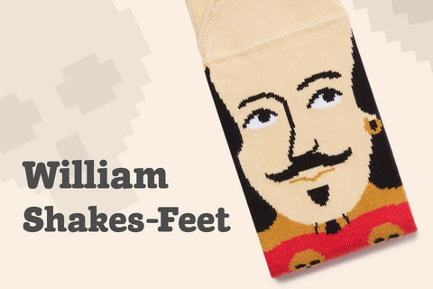 Cool socks with literature characters