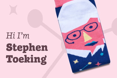 Science socks with faces
