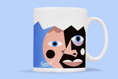 Fun character mugs