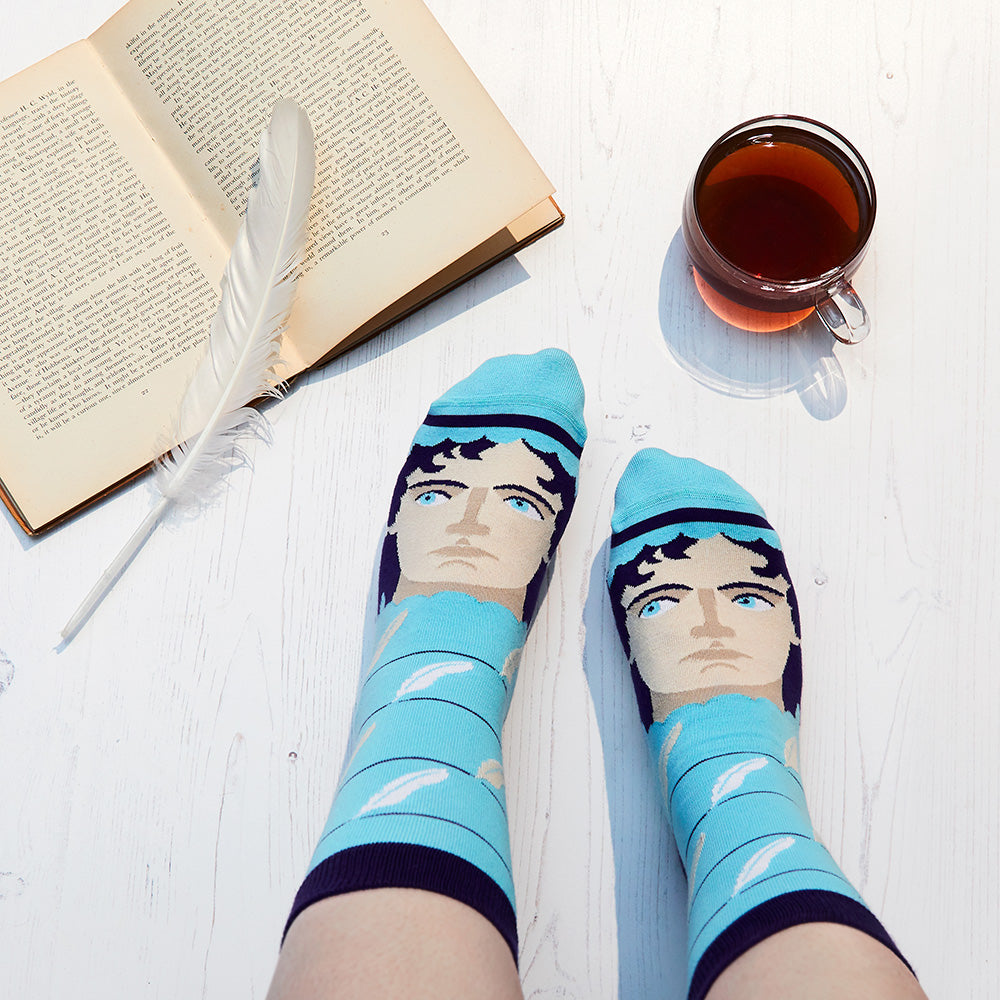 Literature inspired socks - Jane Austoe