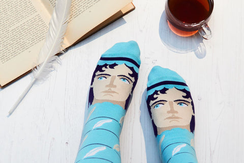 Literary Gifts Idea - Jane Austoe Socks