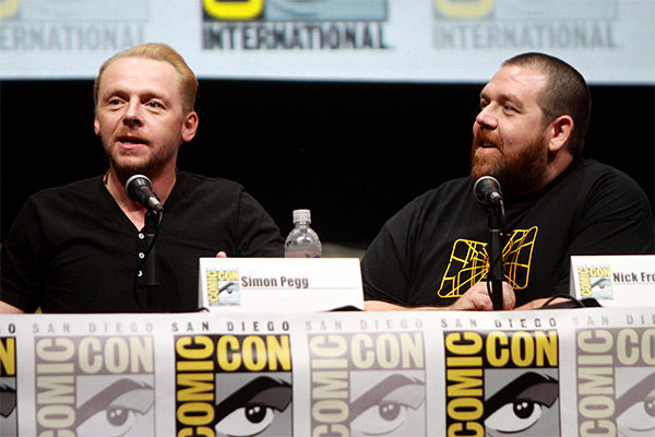 Nick Frost and Simon Pegg always together