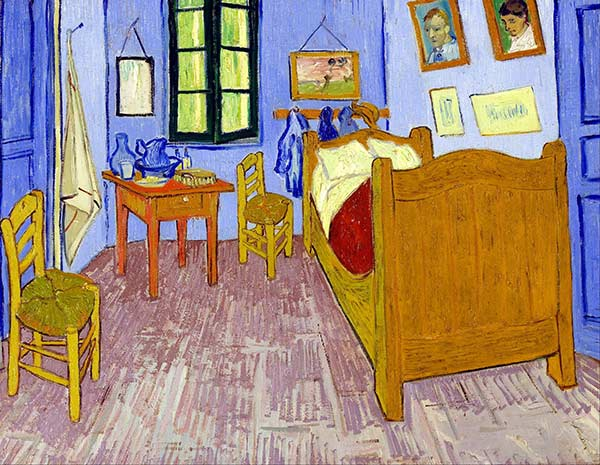 Van Gogh - Bedroom In Arles - Painting