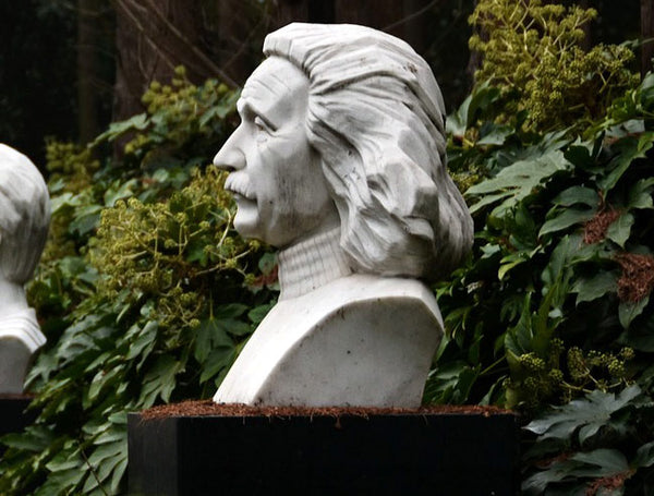 Sculpture of Albert Einstein