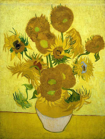 Sunflowers - Vincent Van Gogh - Painting