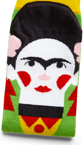 Art Socks With Illustrated Faces
