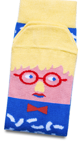 Character Socks With Faces