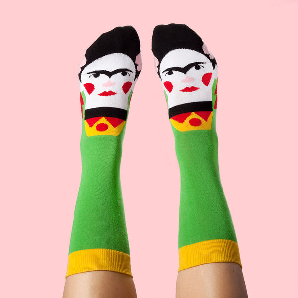 Cool Socks For Art Lovers - Frida Callus
