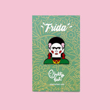 Cool Enamel Pin Badges - Artist  Frida