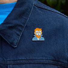 Artist Inspired Enamel Pins - 'Vincent' by ChattyFeet