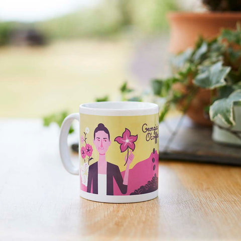 Cool mug for art lovers - Georgia O'coffee
