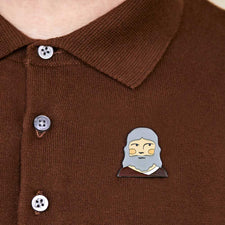Best Gifts for Inventors - Leonardo Pin Badge