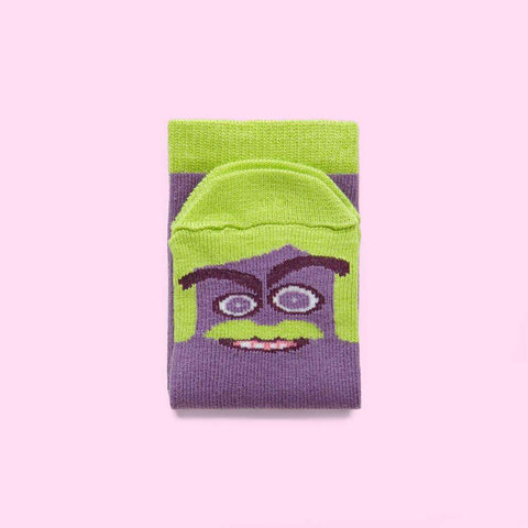 Novelty socks for kids - Sigmund character design