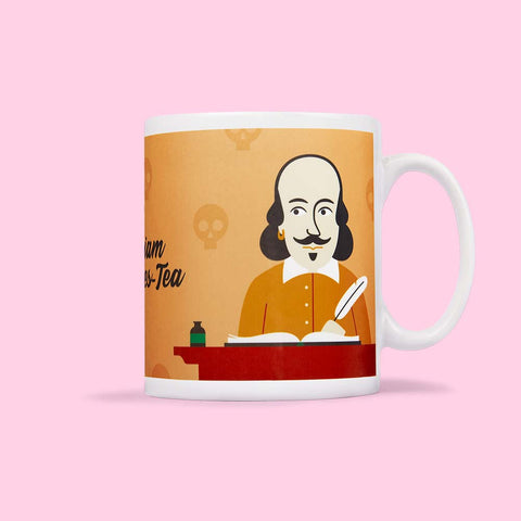 Theatre Mug - William Shakes-Tea by ChattyFeet