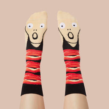 Art Gifts - Scream Socks