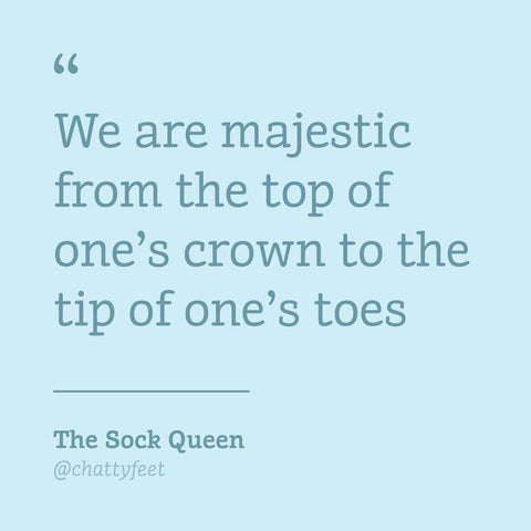 Buy a cool gift - The Queen funky socks