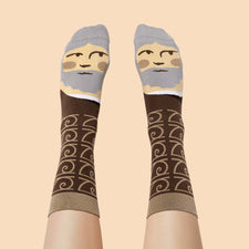 Art Socks - Leonardo Toe Vinci by ChattyFeet