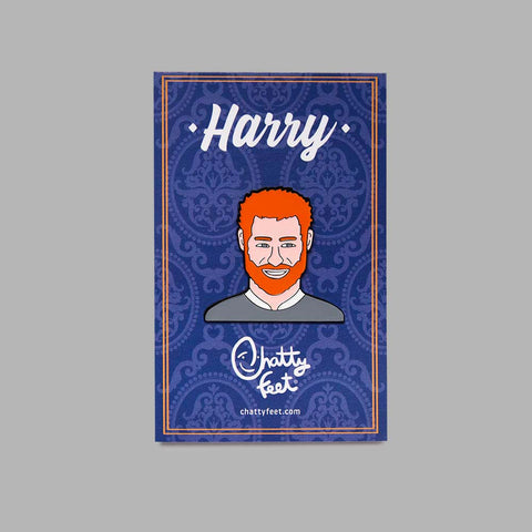 Enamel Pin Badge - Royal Gifts - Harry Badge