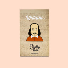 Enamel Badge - Theatre Gifts - William Shakespeare