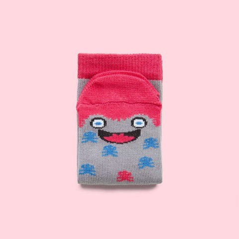 Funny kids socks - Miko illustrated character