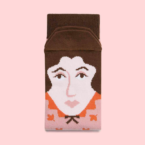 Funky socks - Book Lover Gifts - Virginia Wool