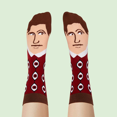 Funny Socks For Booklovers - George Toewell
