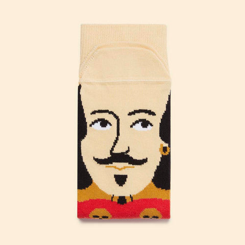 Funky Socks - Shakespeare - Gift for theatre lovers