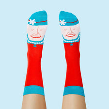 The Sock Queen - Cool gift idea for royal fans
