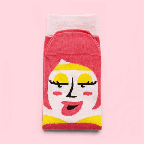 Funky socks - Gift for illustrators - Venus design