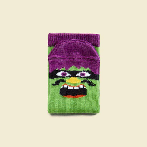 Novelty socks for kids - Mr. Grrrril illustrated character