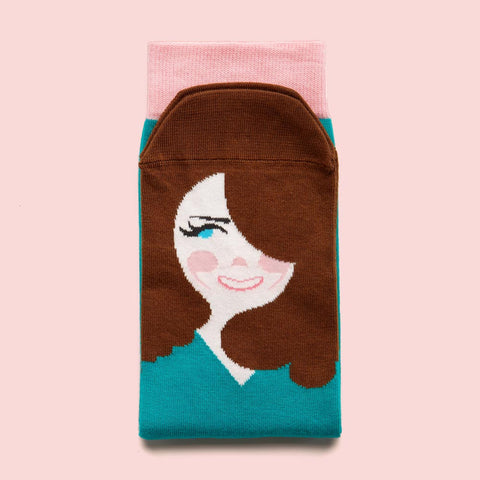 Funny socks - Royal Sock Collection - Kate Middle-Toe
