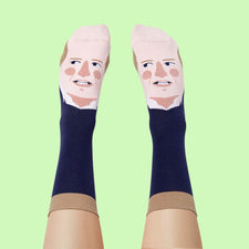 Royal Gift Idea - Prince Wills Heel Funny Socks