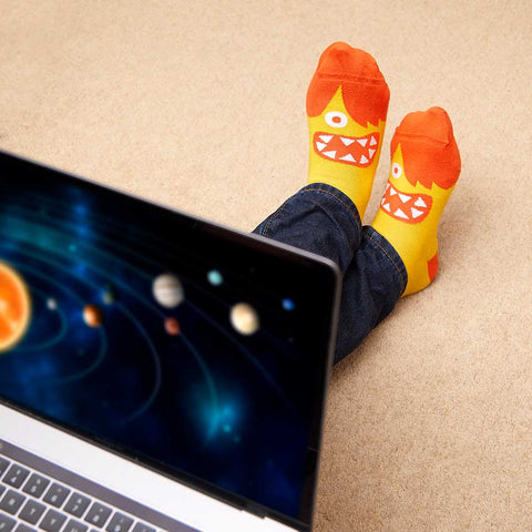 Cool gift for science lovers - Prof. Brian Sox Socks