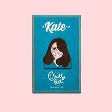 Royal Enamel Pins - Kate Character Design