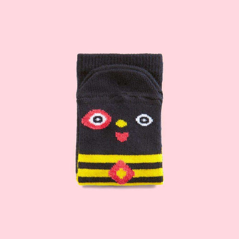 Funny kids socks -Meggy cartoon character