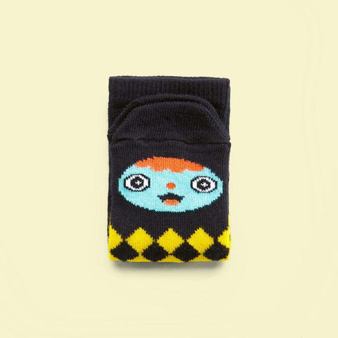 Socks with faces for boys & girls