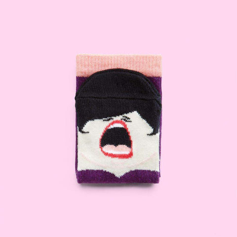 Cool socks for children- La Diva the Opera Singer