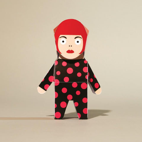 Artist Paper Model - Yayoi Origami by ChattyFeet