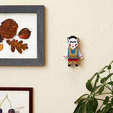 Artist Frida Paper Model by ChattyFeet