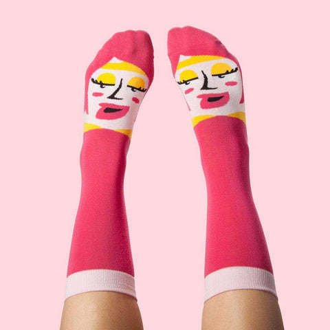 Funky socks - Cool birthday gift - Venus