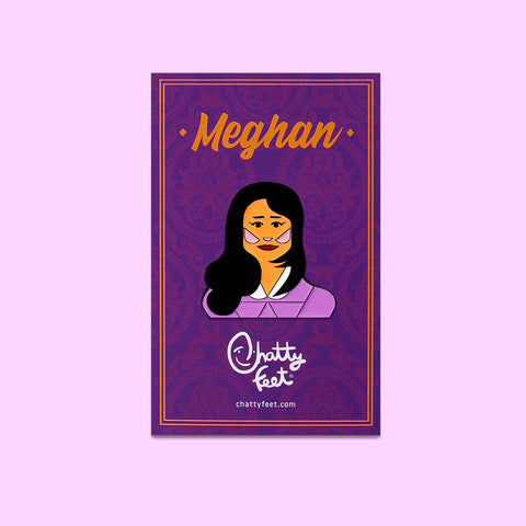 Royal Enamel Pins - Meghan