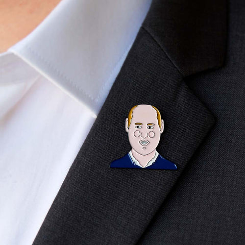 Royal Enamel Pin- Wills by ChattyFeet