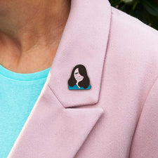 Royal gifts- Kate Enamel Pin by ChattyFeet
