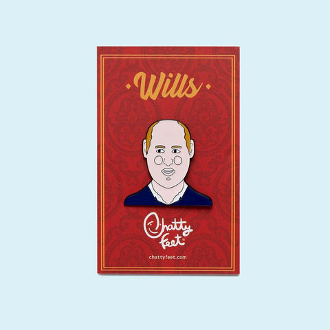 Enamel Pin Badge - Royal Gifts - Wills Badge