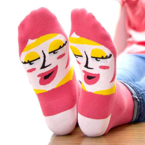 Best friend gifts - Funky socks design - Venus